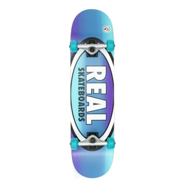 Real Oval Fades Large Complete Skateboard - 8.0""