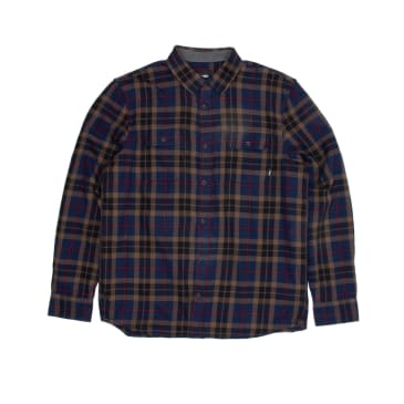 Vans Sycamore Flannel Shirt - Dress Blues