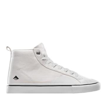 Emerica Omen Hi Winkowski Skate Shoes - White