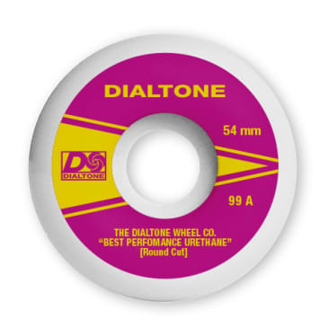 Dial Tone Wheels Atlantic Round Cut 99a 54mm