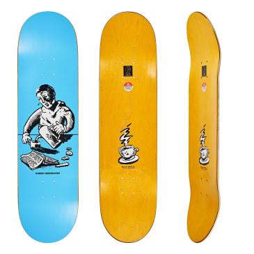 "Polar Skate Co. Aaron Herrington Breakfast Blue Skateboard Deck - 8.125"""