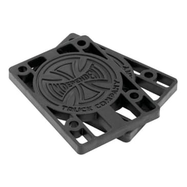 "Independent Skateboard 1/8"" Riser Pads - Black"