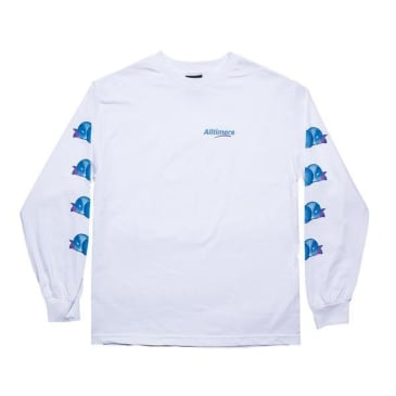 Alltimers Peachy L/S Tee White