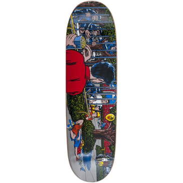 101 Heritage Eric Koston Day At The Zoo Reissue Skateboard Deck - Screen Printed