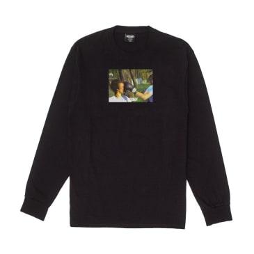 Hockey Punch Long Sleeve T-Shirt - Black