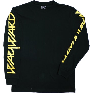 Wayward Skateboards Snipes Long Sleeve T-Shirt - Black