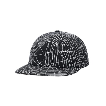 Butter Goods Web 6 Panel Cap - Black