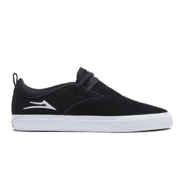 LAKAI Riley 2 Shoes Black/White