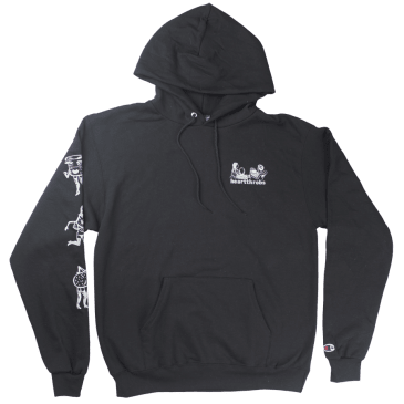 Heartthrobs Cups Hoodie Black