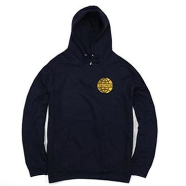 Butter Goods Lateral Logo Hoodie - Navy
