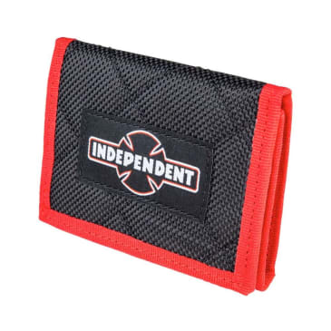 Independent Dual Pinline O.G.B.C. Wallet - Black-Red