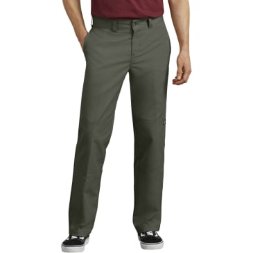 DICKIES '67 896 Double Knee Twill Pant Olive Green