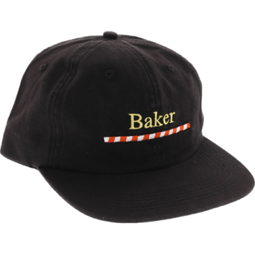 Baker Walker Strapback - Black
