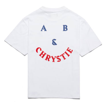 Chrystie NYC A&B Chrystie Smile Logo T-Shirt - White