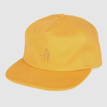 """PASS~PORT """"WORKERS"""" 5 PANEL CAP GOLD"""