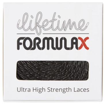 Lifetime Laces - Lifetime Laces Formula X Round Black
