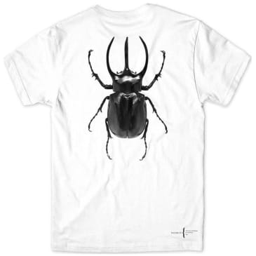 Girl Skateboards Beetle T-Shirt - White