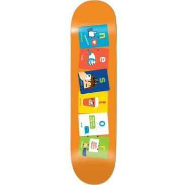 Enjoi Skateboards Nestor Judkins Flashcards R7 Skatebord Deck - 8.25