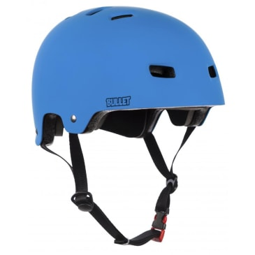Bullet Deluxe T35 Matt Blue Helmet - 49-54cm OSFA Youth