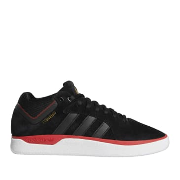 adidas Skateboarding Tyshawn Jones Shoes - Core Black / Scarlet / Gold Met