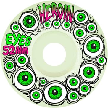 Heroin Skateboards Wheels Eyes - 52mm