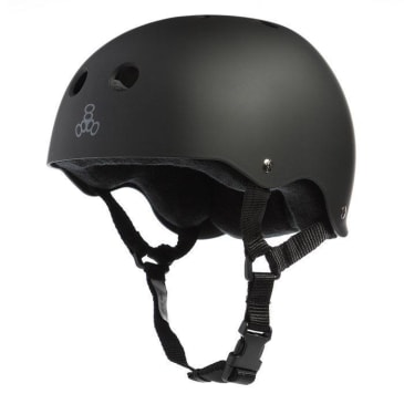 Triple 8 - Matte Black (Large)