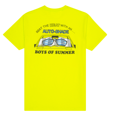 Boys of Summer Auto Shade T-Shirt - Safety Green