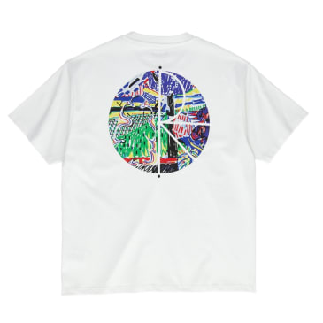 Polar Skate Co. Garden Fill Logo T-Shirt White