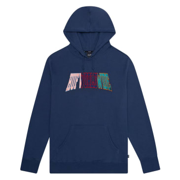 Huf - Suspension Arched Pullover Hooded Sweatshirt - Insignia Blue