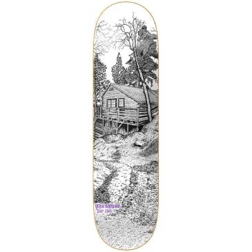"""Heroin Skateboards - Tony Karr Cabin Series 2 Deck 8.3875"""" Wide"""