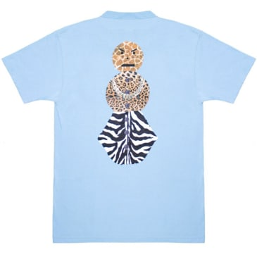 Quartersnacks Safari Snackman Charity T-Shirt - Carolina Blue