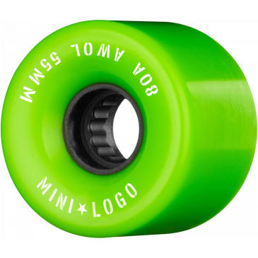 Mini Logo AWOL 55mm 80A Wheels (Green)