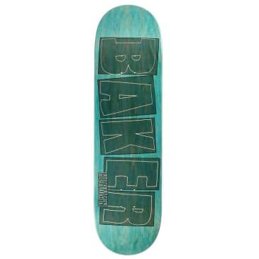 Baker Skateboards Bryan Herman Brand Name Stroke Aqua Skateboard Deck - 8.5
