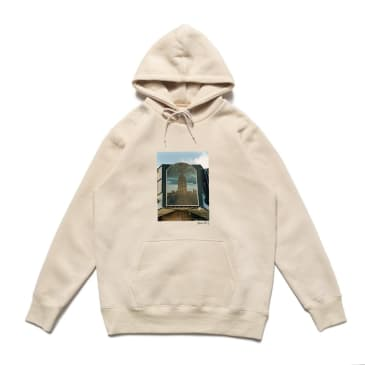 Chrystie NYC Empire State Building Quentin De Briey Photo Hoodie - Cream