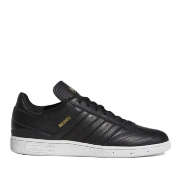adidas Skateboarding Busenitz Shoes - Core Black / Gold Metallic / Cloud White