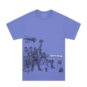 Fucking Awesome Stark Fist of Retrieval T-Shirt - Violet