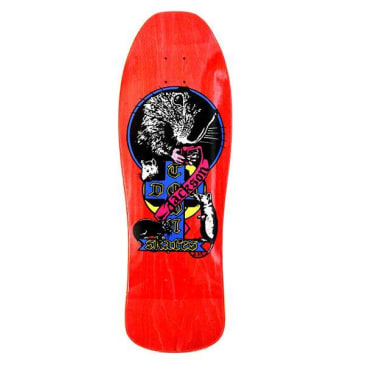 Dogtown Skateboards Tim Jackson 1980 Re-Issue Venice Rat Deck 10.25 - Red