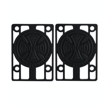 "Independent 1/8"" Black Riser Pads"