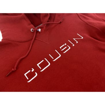 Cousin Records - CR Embroidered Logo Hoodie