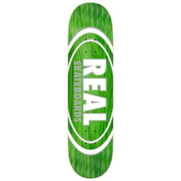 """Real Oval Pearl Patterns Deck 8.75"""""""