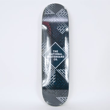 """The National Skateboard Co. - 8.125"""" Classic Deck (High Concave) - Blue Stain"""