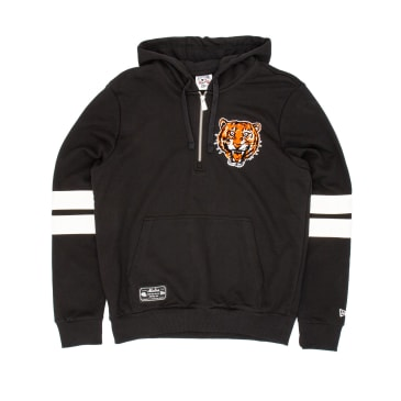 New Era Cooperstown Detroit Tigers Hooded Sweat - Black