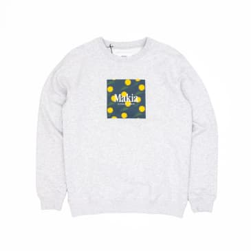 Makia Keltano Crew Sweatshirt - Light Grey