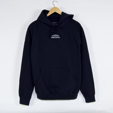 Welcome Skate Store - Arch Pullover Hooded Sweatshirt - Navy
