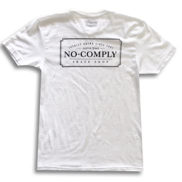 No Comply Locally Grown T-Shirt - White