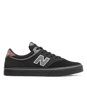New Balance Numeric 255 Skate Shoe - Black / Light Aluminium