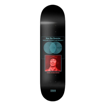 Sour Solution Nisse Sour Eyes Deck 8.125""