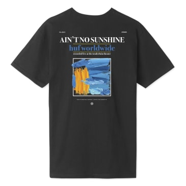 HUF Ain't No Sunshine T-Shirt - Black