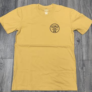Scumco & Sons Tee Yellow