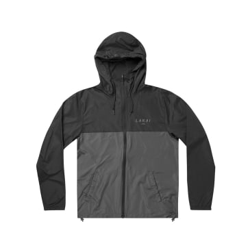 LAKAI STACKED WINDBREAKER JACKET - BLACK GRAY